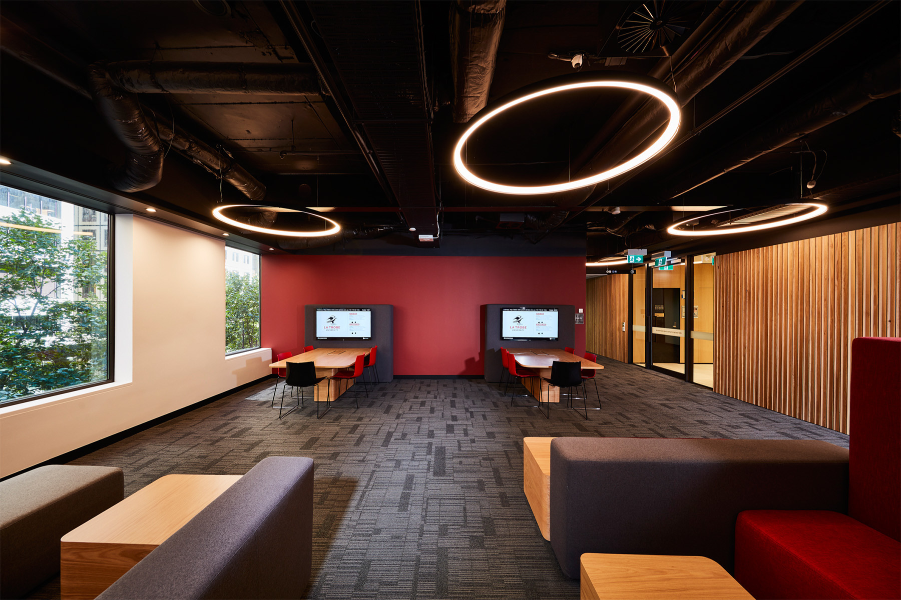 Blp delivers flagship melbourne cbd space for la trobe for Melbourne space design