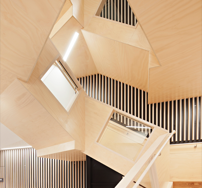Albury Wodonga Regional Cancer Centre Feature Main Stair BLP