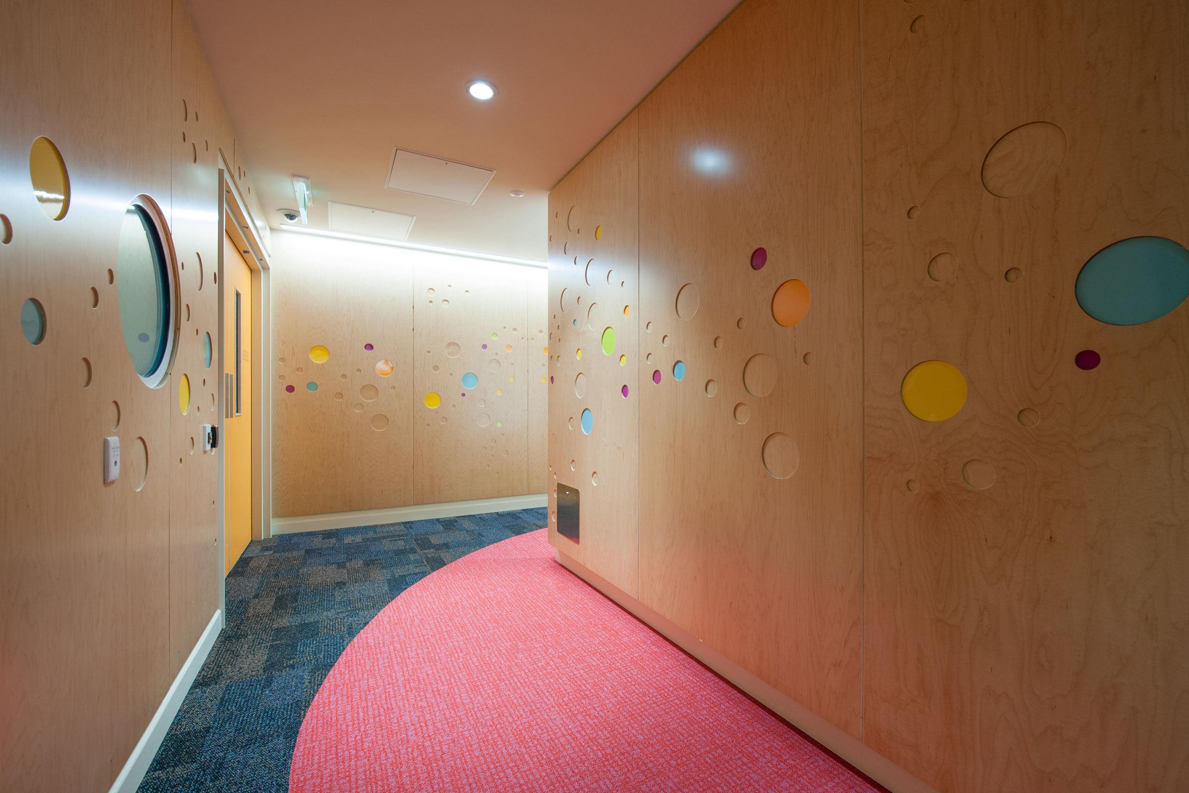 Perth Children's Hospital, BLP