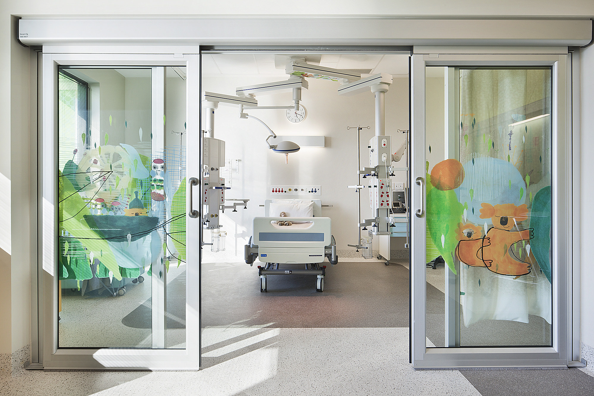 Royal Children S Hospital Winner 2012 Australian Interior Design Awards Billard Leece Partnership Melbourne Sydney