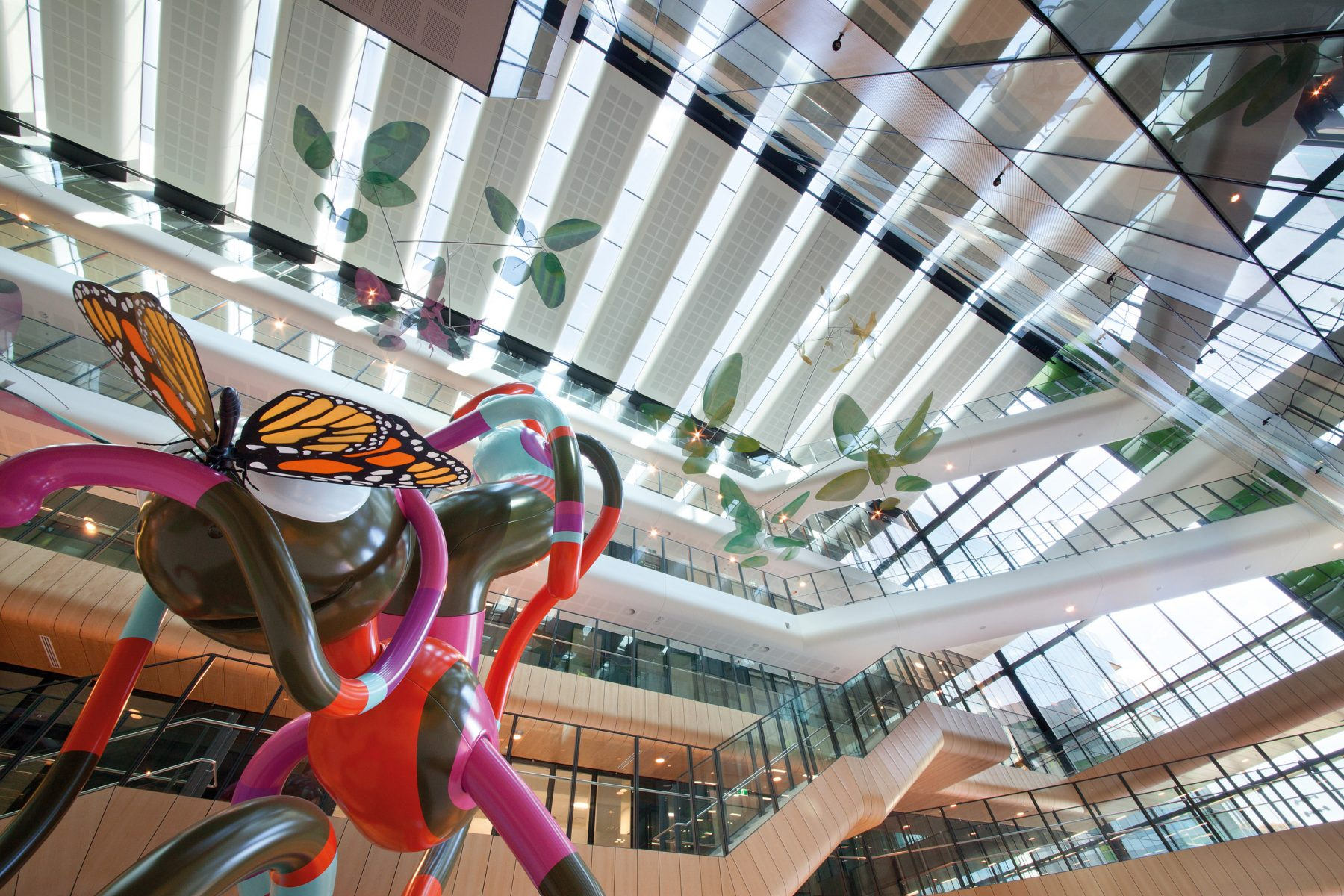 Royal Children's Hospital Atrium Art BLP