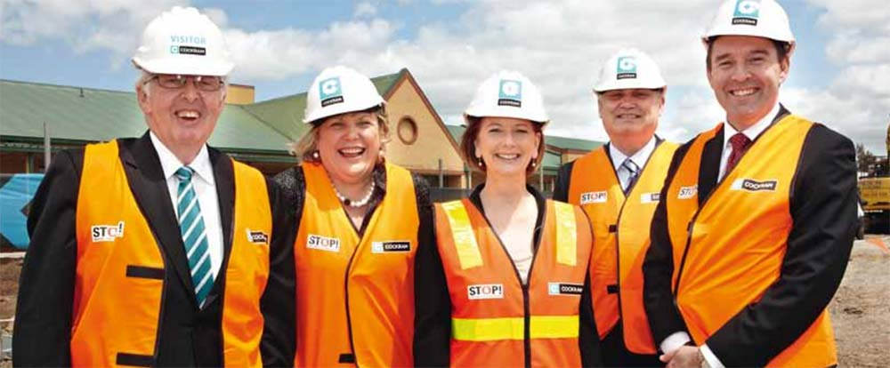 Werribee Mercy Hospital Sub-Acute Construction Julia Gillard BLP