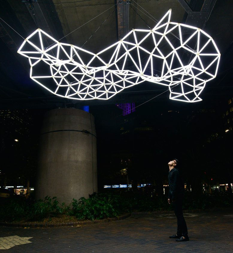 Water's Edge by BLP artists Meng Hng Ho and Mitchell Page selected for Vivid Sydney 2015