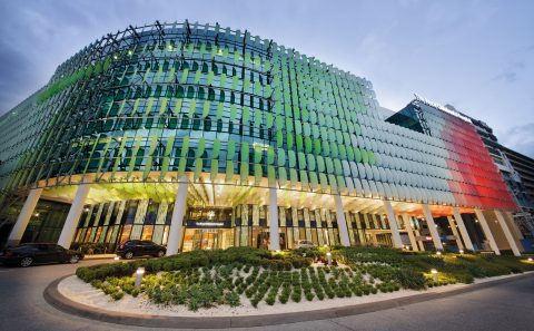 Royal Children's Hospital Melbourne Facade BLP