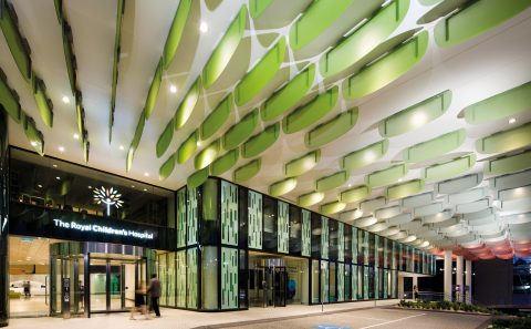 Royal Children's Hospital Melbourne Entry Canopy BLP