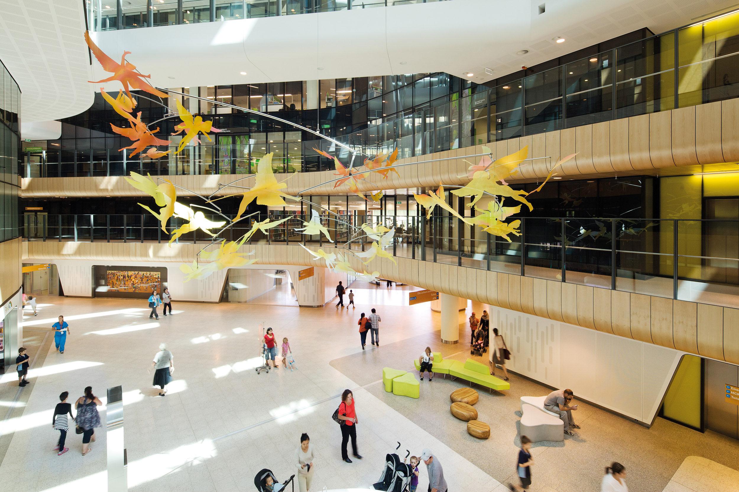 Royal Children's Hospital Public Art Atrium BLP