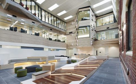 Ballarat Regional Integrated Cancer Centre Atrium BLP