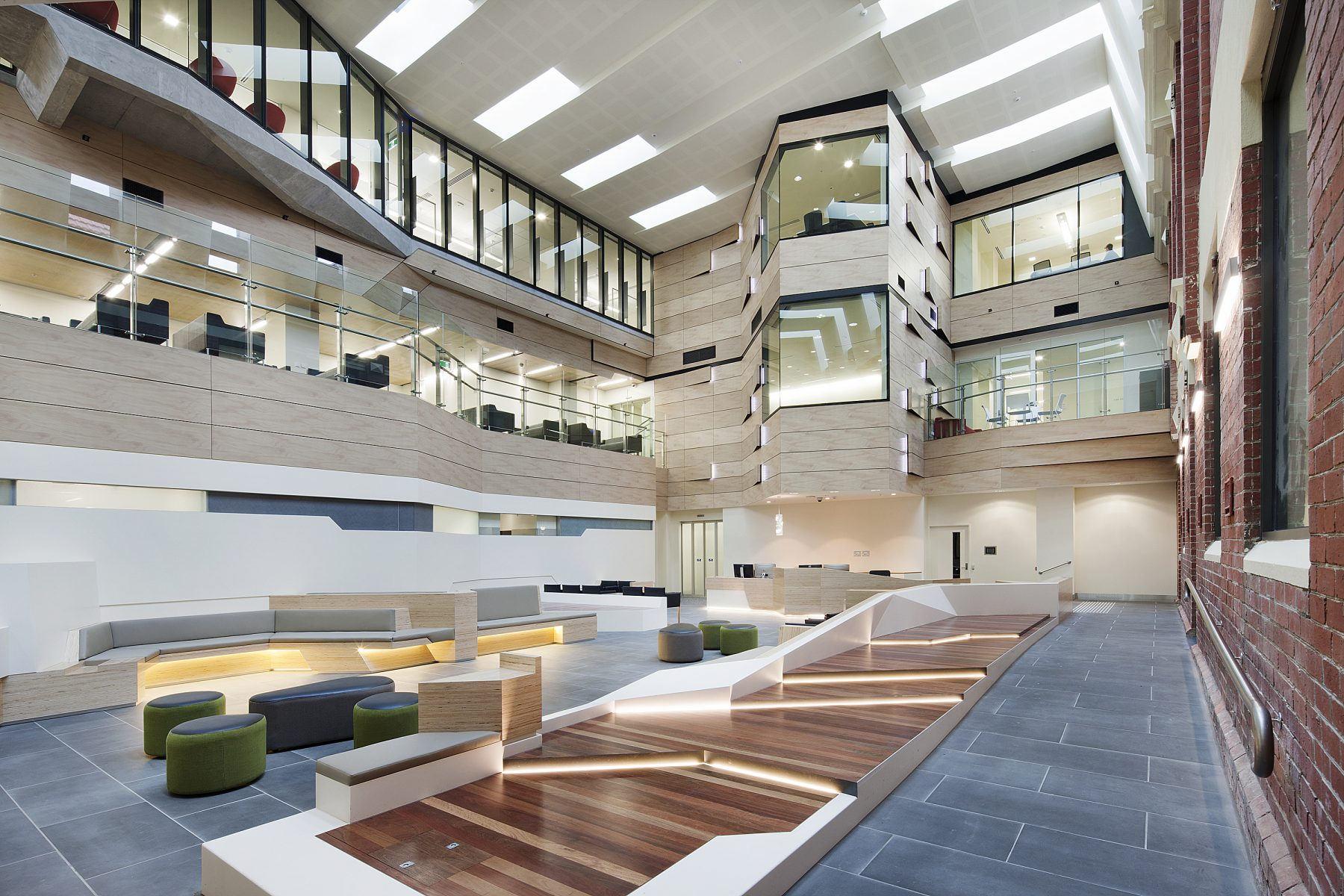 Ballarat Regional Integrated Cancer Centre Atrium BLP