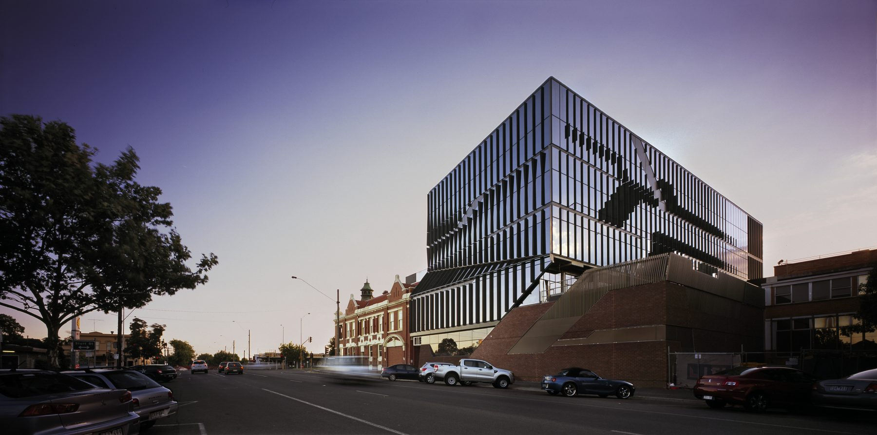 Ballarat Regional Integrated Cancer Centre Facade BLP
