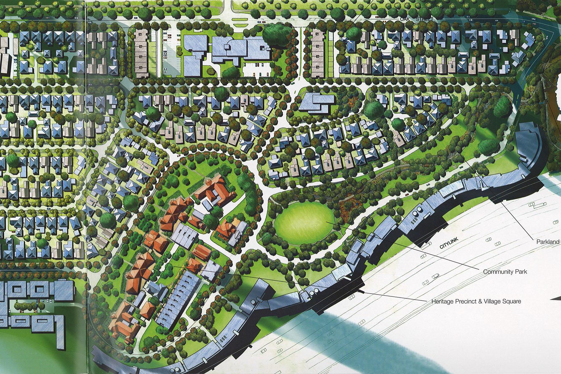 Village Park Masterplan