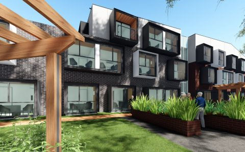 BlueCross Springfield Redevelopment Aged Care Residence BLP 3D