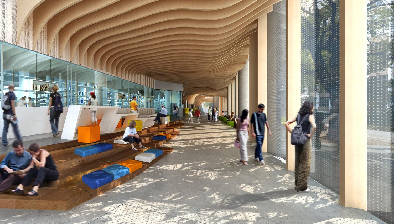 Doherty Institute 3D render BLP