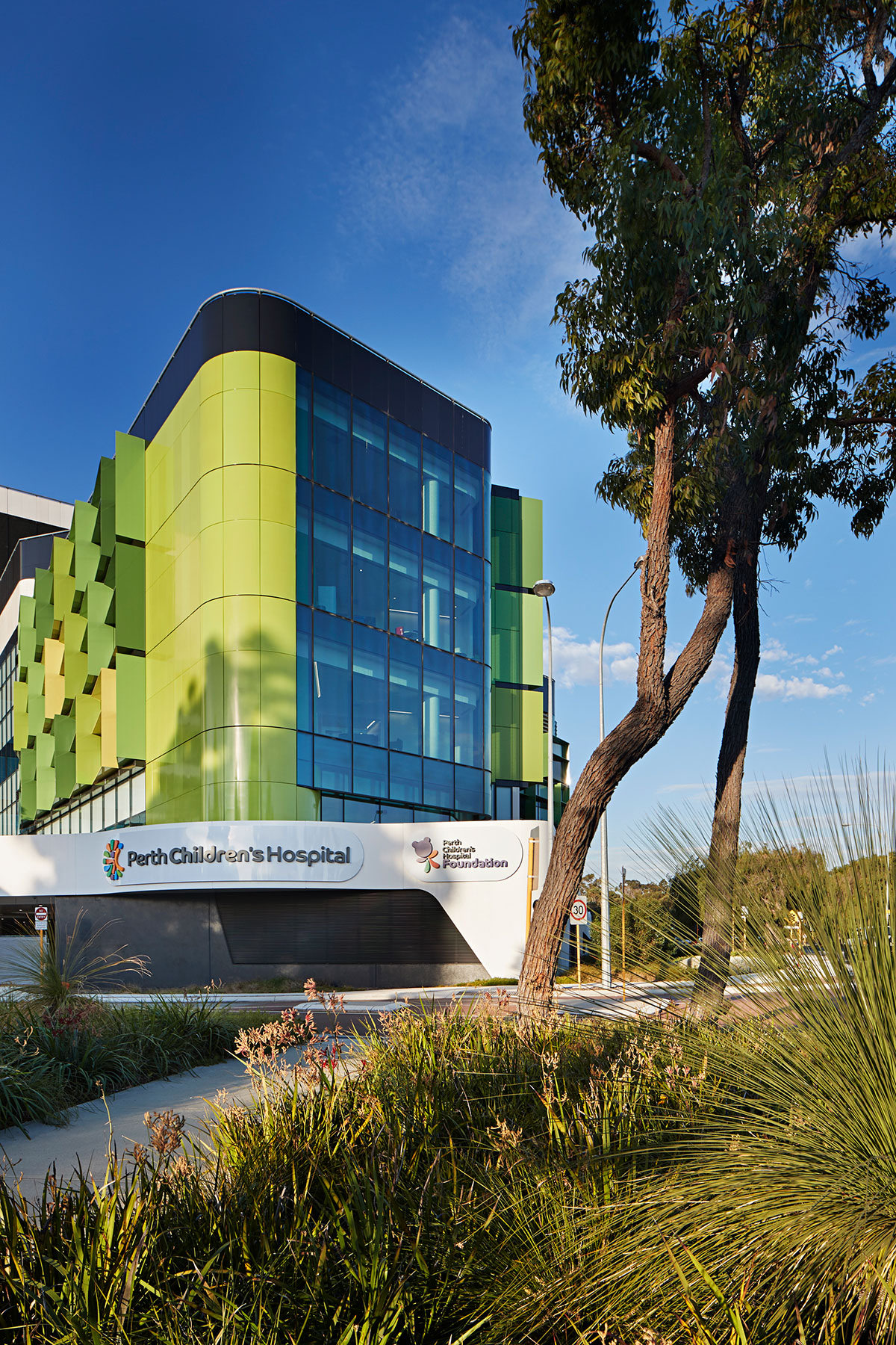 Perth Children's Hospital, BLP
