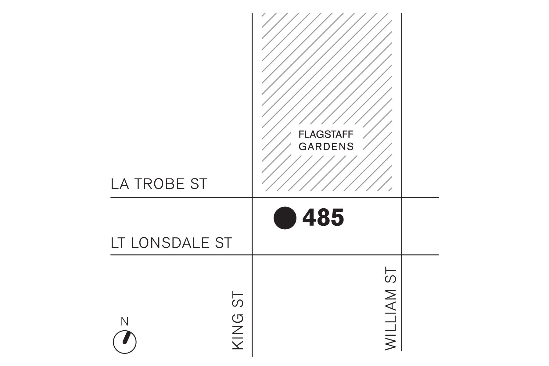 180601 BLP Melbourne are moving 485 La Trobe map news